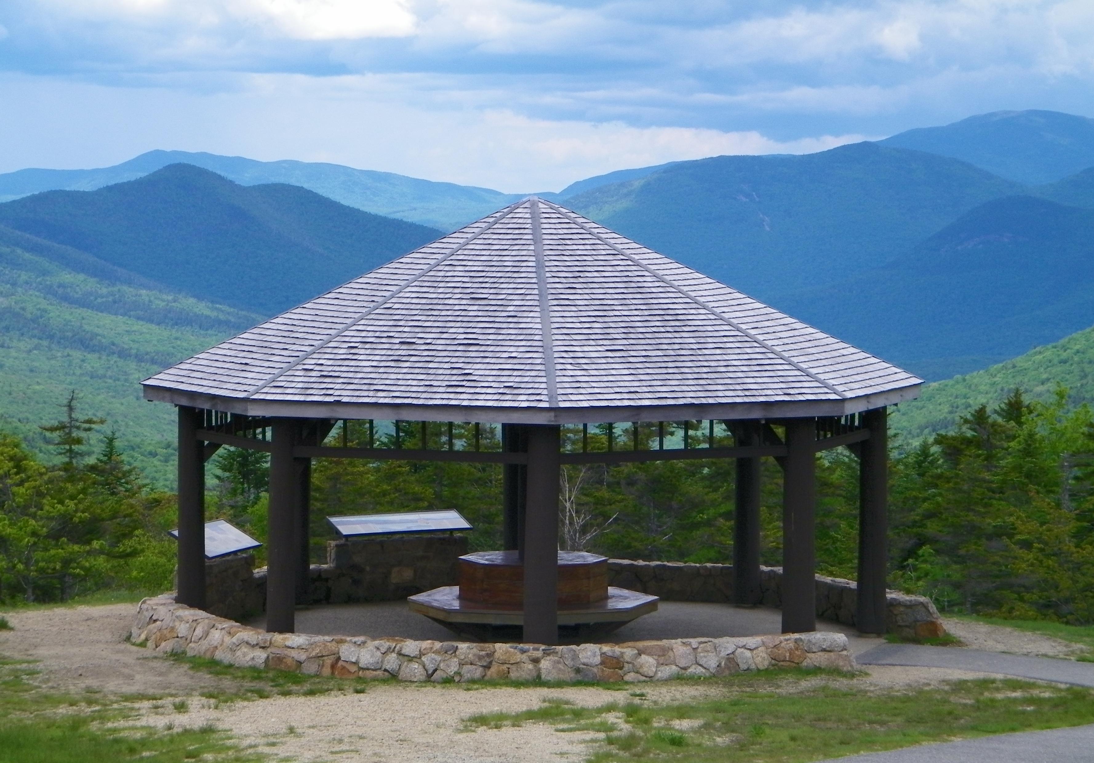 Gazebo in the White Mountains, NH