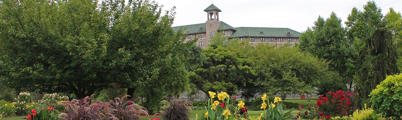 Hotel Hershey from Hershey Gardens